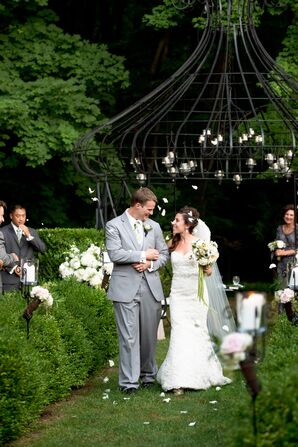 Ceremony Recessional at Lord Thompson Manor