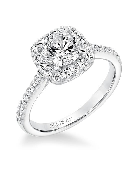 ArtCarved 31-V644ERW-E Engagement Ring photo