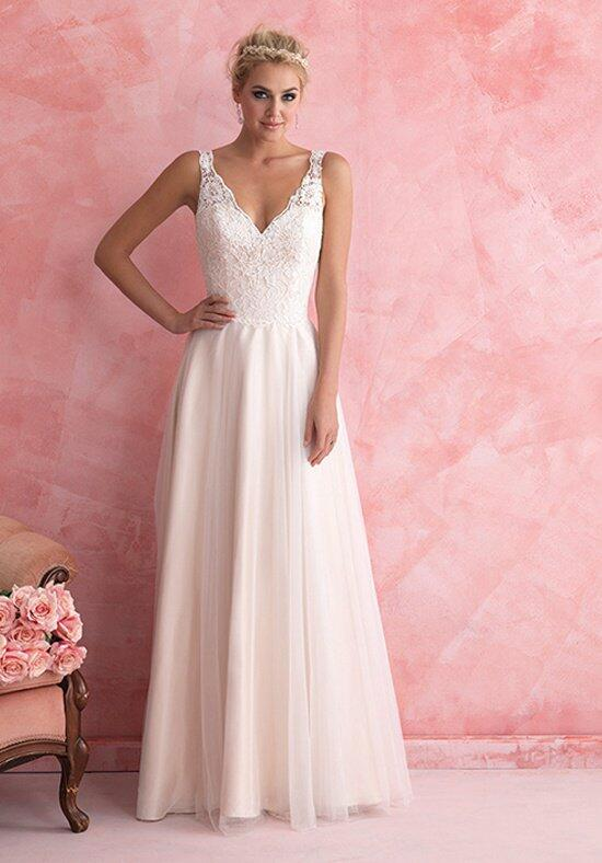 Allure romance 2807 wedding dress the knot for Allure romance wedding dress