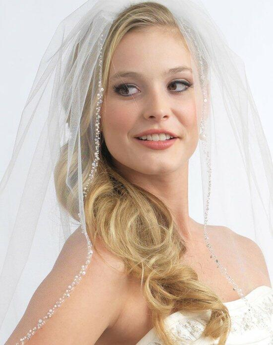 USABride Mariah Pearl & Crystal Veil VB-5008 Wedding Veils photo