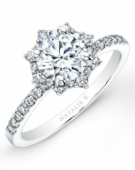 Natalie K Eternelle Collection - NK26674-W Engagement Ring photo