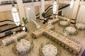 Wedding Reception at The Grand Hall at Power & Light in Kansas City, Missouri