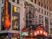Hard Rock Cafe in Times Square, NYC