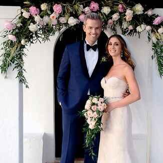 Ryan and Emilia wedding photo