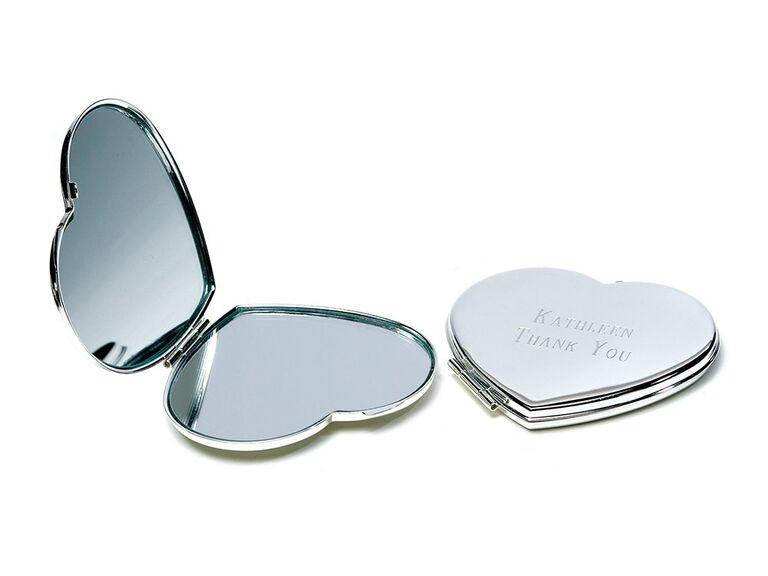 Compact beauty mirror