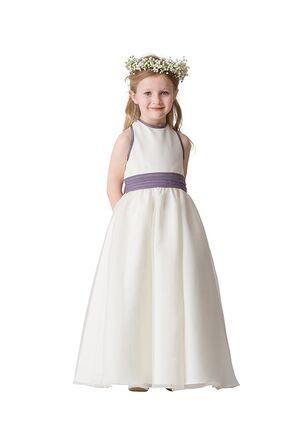 Bari Jay Flower Girls F5416 Purple Flower Girl Dress