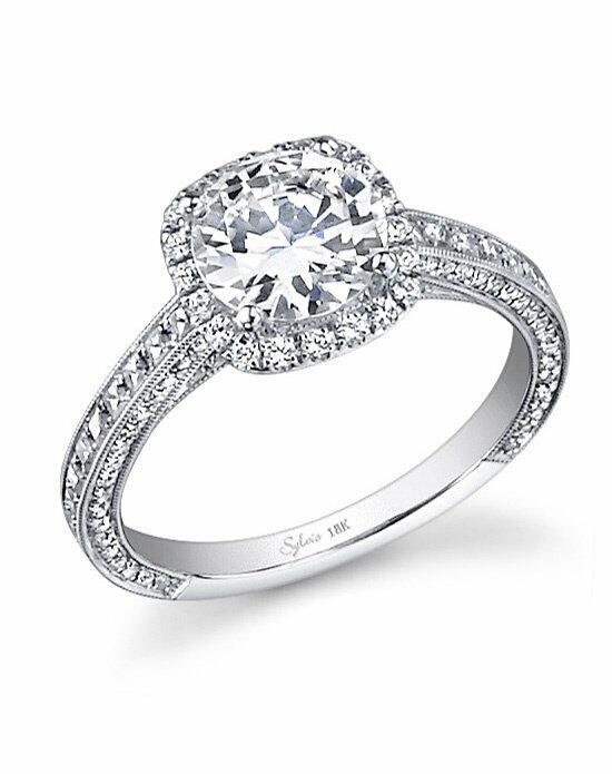 Sylvie Collection SY652 Engagement Ring photo