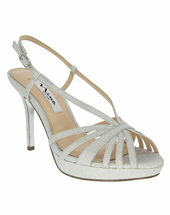 Nina Bridal FENIX_SILVER WONDERLAND_MAIN Wedding Shoes photo