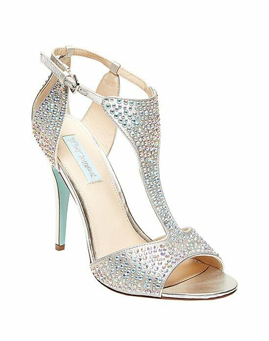 Blue by Betsey Johnson SB-Ido- Silver Wedding Shoes photo