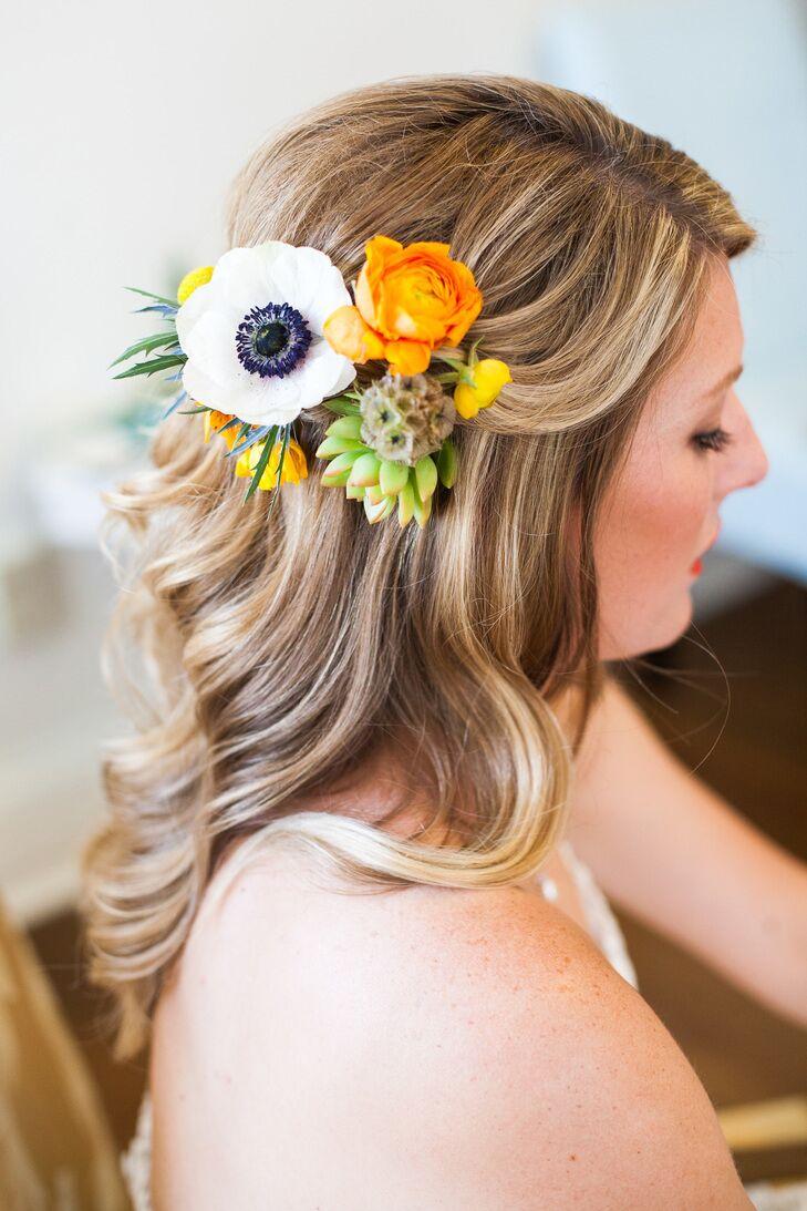 Succulent hairpiece