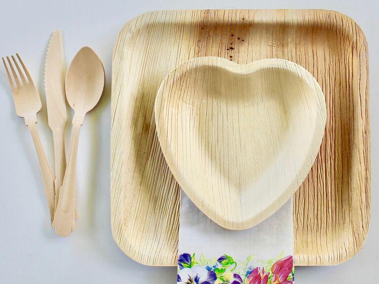 sustainable dinnerware