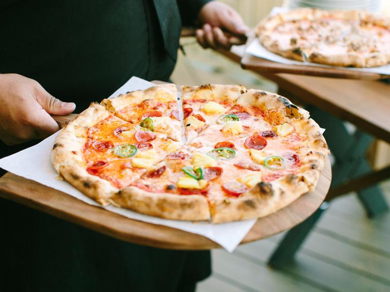postwedding brunch pizza