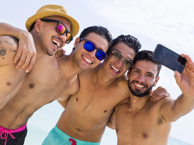 Bachelor Party and Mens Honeymoon Swimwear