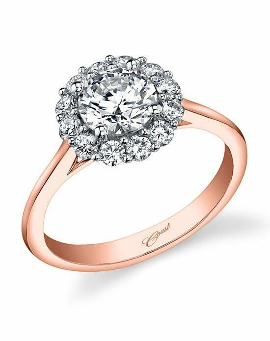Coast Diamond Rose Gold Collection - LC5205 Engagement Ring photo