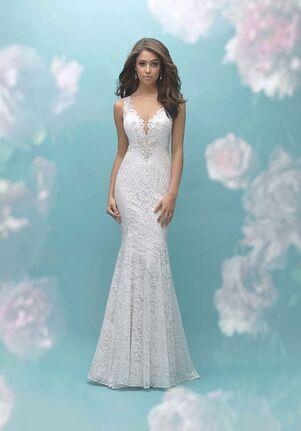 Allure Bridals 9460 Sheath Wedding Dress