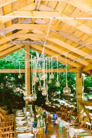 Glass Orb Terrarium Centerpiece