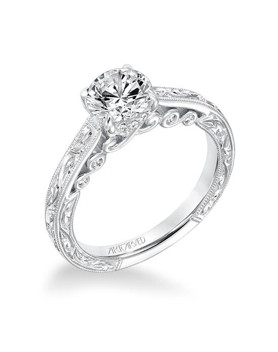 ArtCarved 31-V692ERW-E Engagement Ring photo