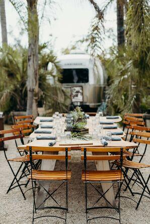 Reception at Caravan Outpost in Ojai, California