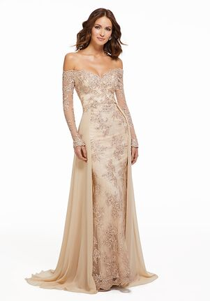 MGNY 72033 Champagne Mother Of The Bride Dress