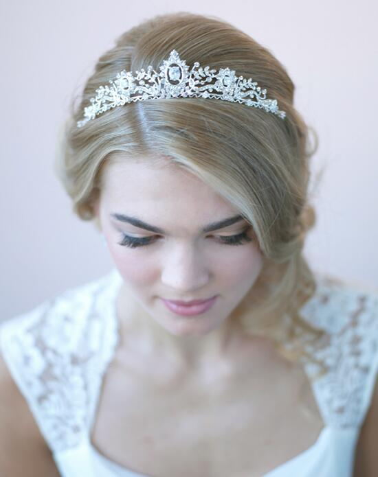 USABride Genevieve Crown Wedding Tiaras photo