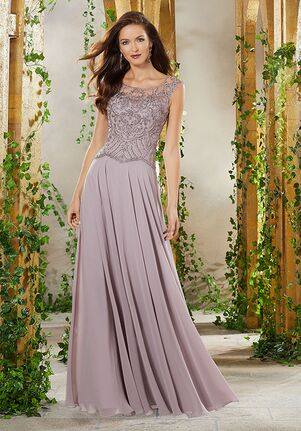 MGNY 71903 Gray,Silver,Purple Mother Of The Bride Dress