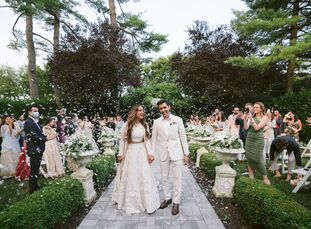 Although the COVID-19 pandemic forced Imaan and Samir to shift their wedding plans, the couple came up with a creative way to make the most of a hard