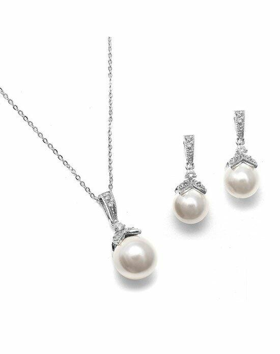 USABride CZ & Pearl Drop Jewelry Wedding Necklaces photo