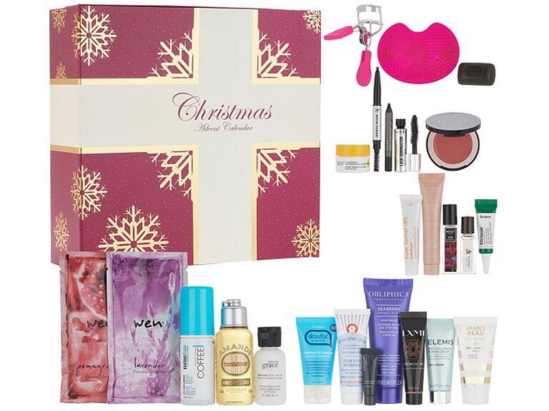 QVC beauty advent calendar