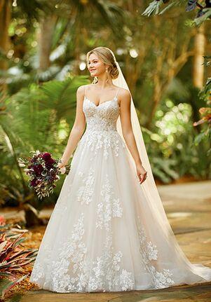 Essense of Australia D3100 A-Line Wedding Dress