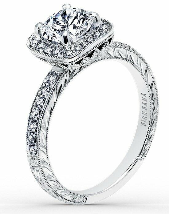 Kirk Kara Carmella Collection K1450DC-R Engagement Ring photo