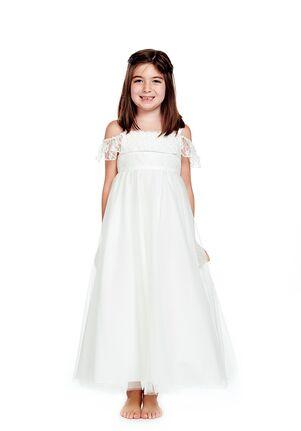 Bari Jay Flower Girls F0520 Ivory Flower Girl Dress