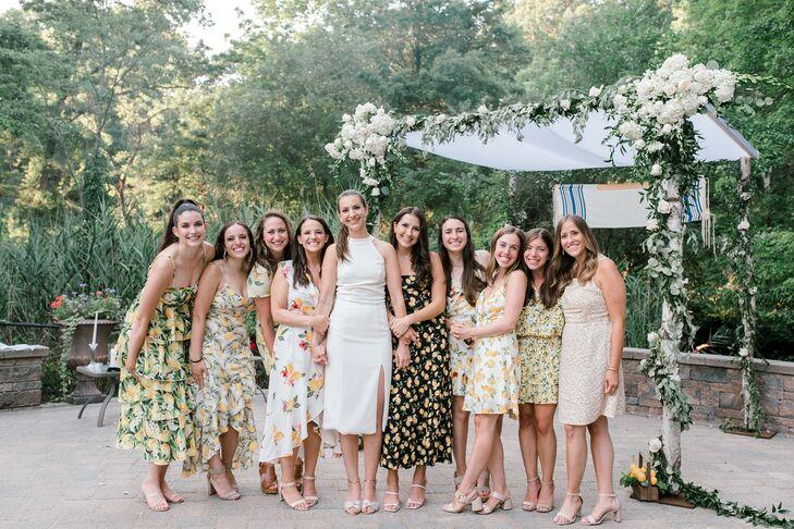 Lemon-Themed Dresses at Backyard Minimony in New York