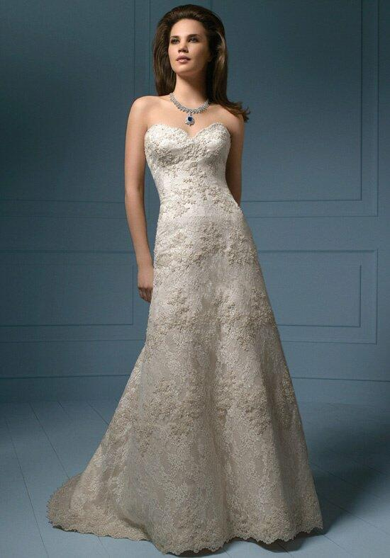 Sapphire by Alfred Angelo 801/801C Wedding Dress photo