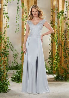 MGNY 71906 Blue,Gray,Pink,Purple,Silver Mother Of The Bride Dress