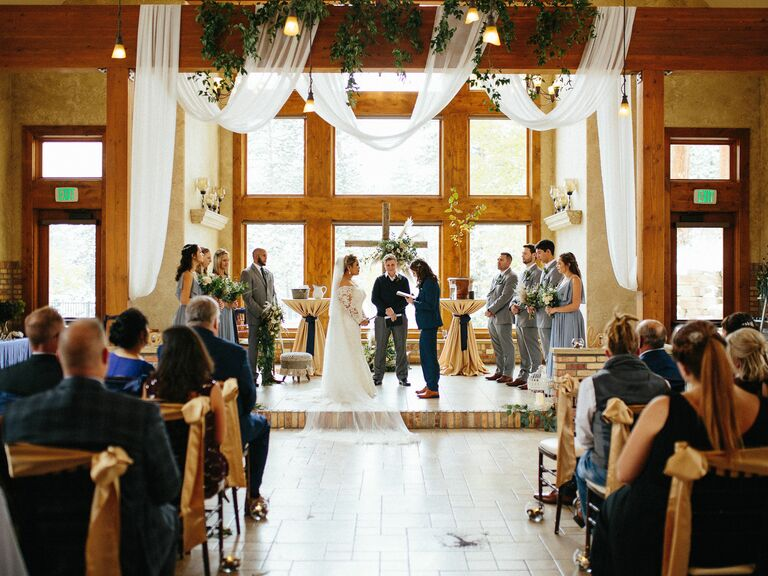 Mountain wedding venue in Estes Park, Colorado.