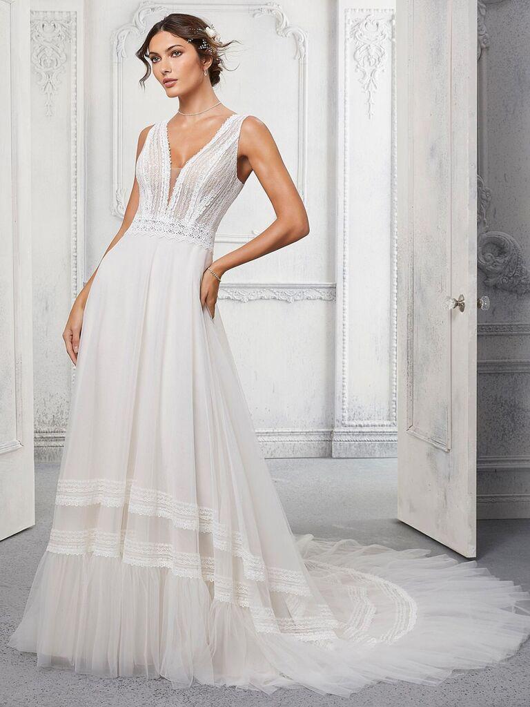 Váy cưới phong cách châu âu