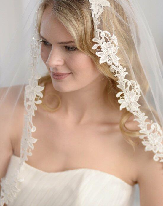 USABride 1-Layer, Angelina Lace Veil VB-5025 Wedding Veils photo