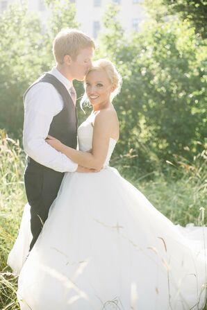 Wedding Portrait in Stockholm, Sweden