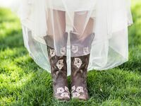wedding boots for bride