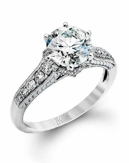 Zeghani ZR896 Engagement Ring photo
