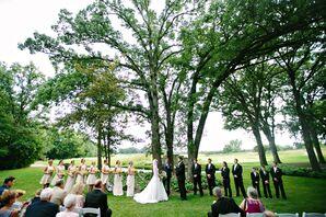 Outdoor Ceremony at Stonebridge Country Club