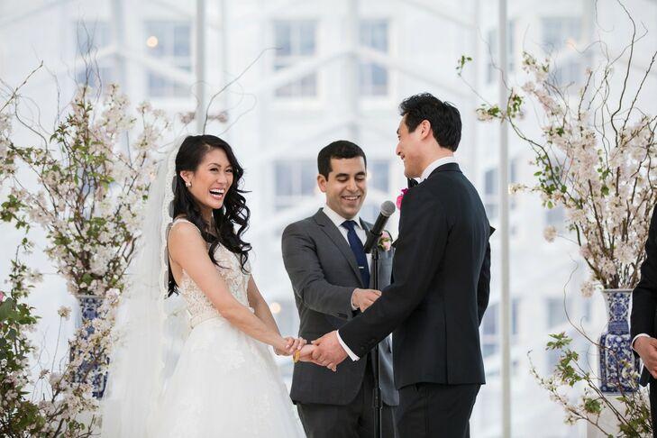 Wedding Ceremony at Kimmel Center for the Performing Arts in Philadelphia, Pennsylvania