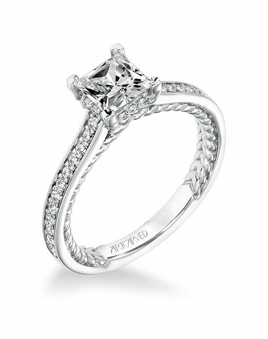 ArtCarved 31-V674ECW-E Engagement Ring photo