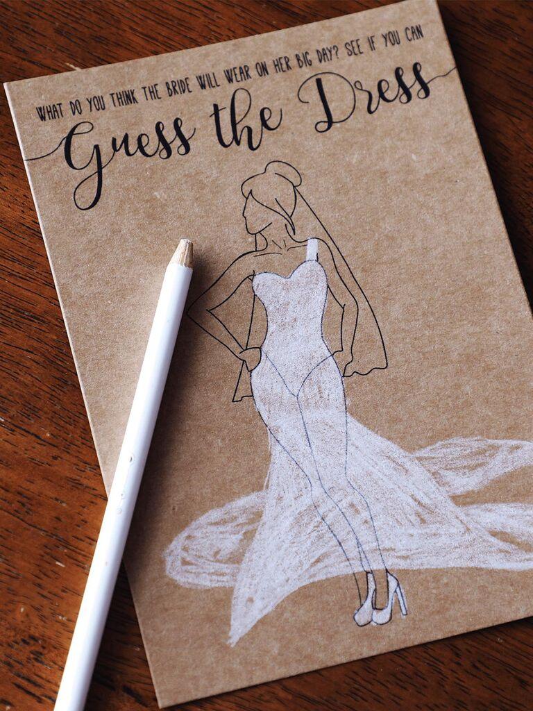 14 Printable Bridal Shower Games Guests Love
