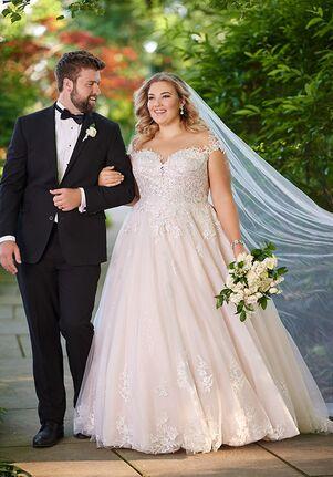 Essense of Australia D2603+ Ball Gown Wedding Dress