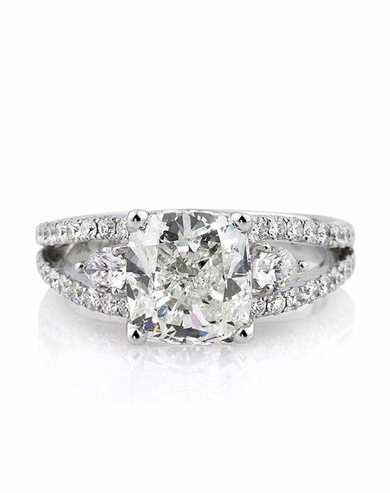 Mark Broumand 3.95ct Cushion Cut Diamond Engagement Ring Engagement Ring photo
