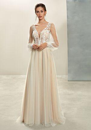 Demetrios L1035 A-Line Wedding Dress