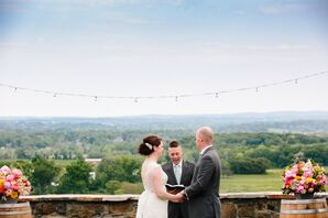 Bluemont Vineyard Wedding Vows