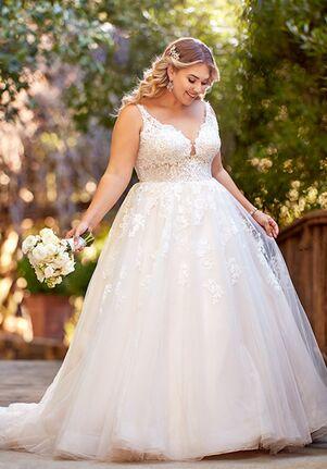Essense of Australia D2587+ A-Line Wedding Dress