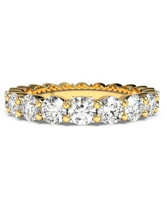 Ritani Women's Slim Round-Cut Diamond Prong-Set Eternity Band - in 18kt Yellow Gold - (2.30 CTW) Wedding Ring photo